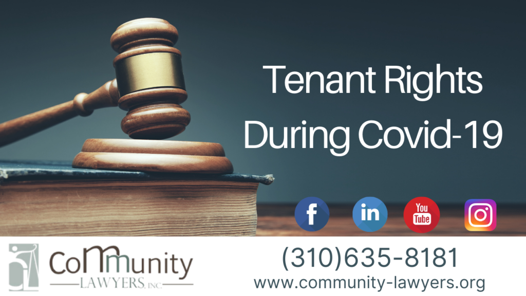 Tenant Rights During Covid-19 – 2021 Update