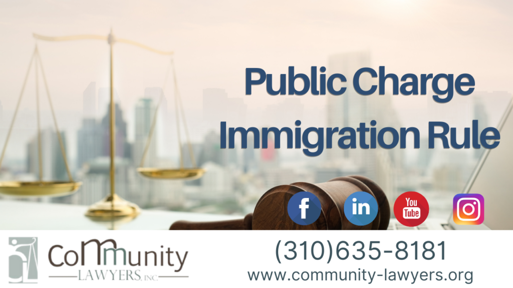 Public Charge Immigration Rule